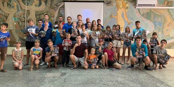 Олимпийский урок в детском оздоровительном лагере Берёзка